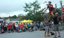 Monlight Madness Juggler Two 2012 Bowmanville BIA