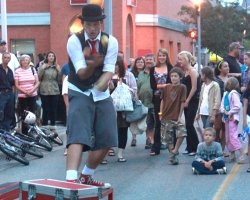 Moonlight Magic, Juggler 2012 Bowmanville BIA