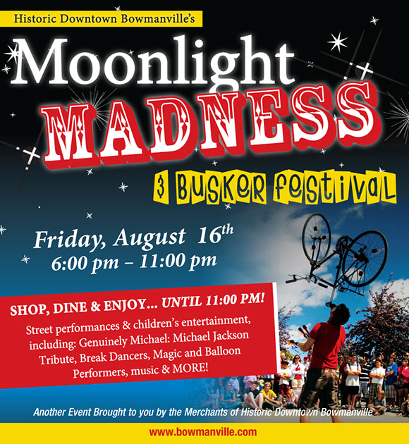 Bowmanville Moonlight Madness 2013